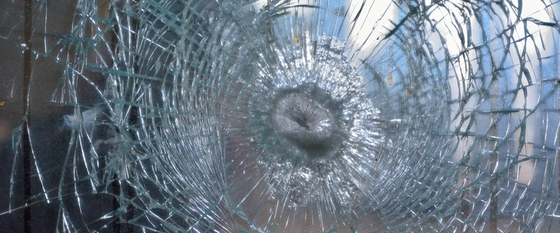Ballistic glass should stop multiple threats