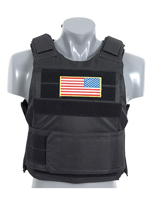 Delta Black Body Armour Kit