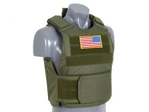 Delta Olive Body Armour Kit