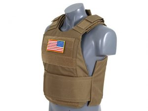 Delta Tan Body Armour Kit