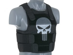 punisher black body armour kit
