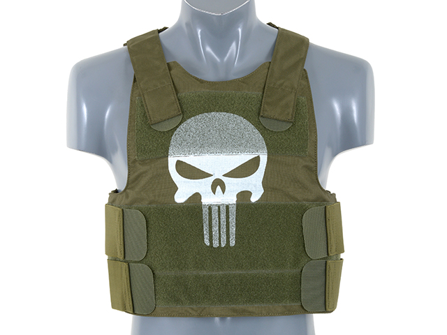 Punisher Olive Body Armour Kit
