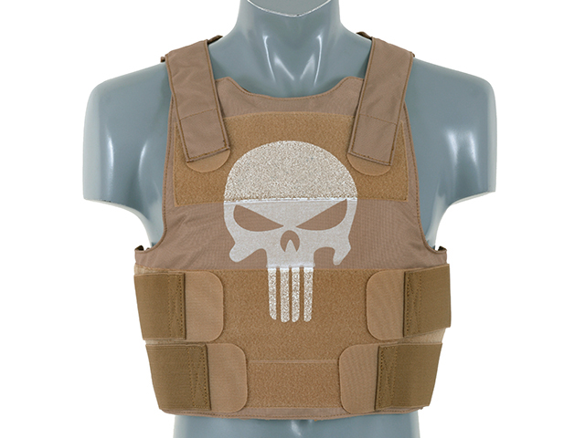 Punisher Tan Body Armour Kit